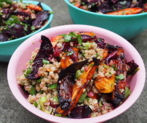 Duck-fat-roasted-vegetable-salad-with-quinoa-and-herbs_Anna-Lisle_Whole-Foods
